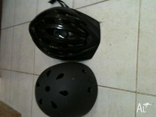 2 x Bicycle Helmets