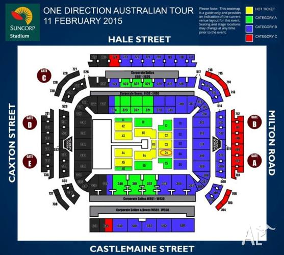 One direction concert dates in Brisbane