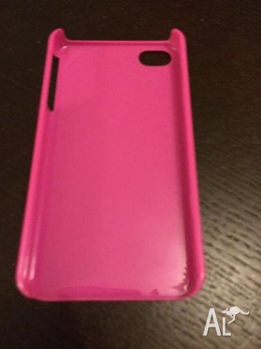 2 x pink iPhone 4s case