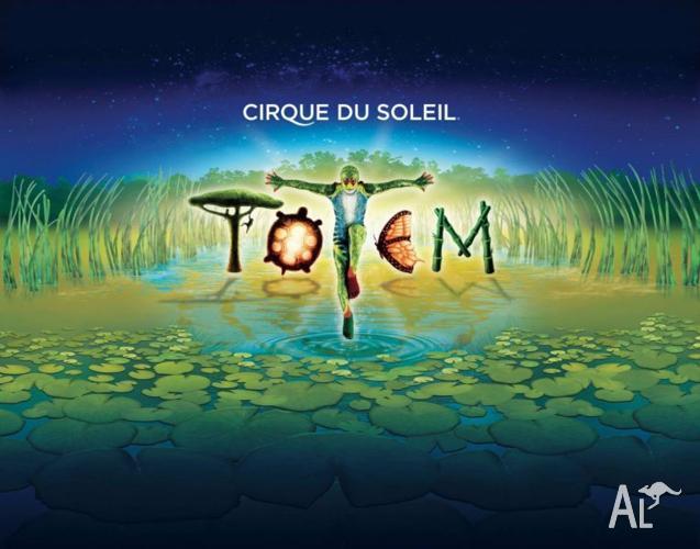 2x Cirque du Soleil tickets - Wednesday 24th 8:00pm