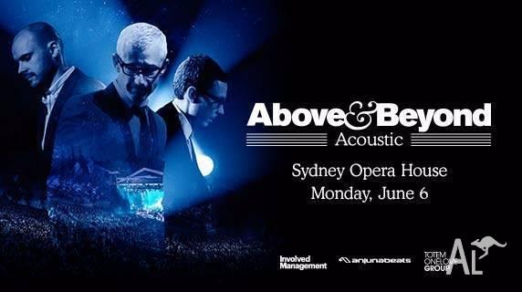 2X Hardcopy Tickets - Above and Beyond Acoustic, Sydney