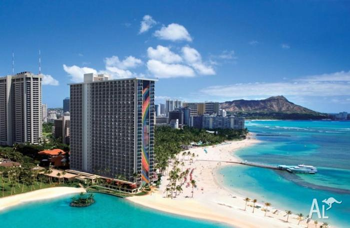2x plane tickets Brisbane to Honolulu