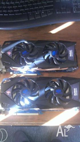 2x Sapphire Radeon HD 6970