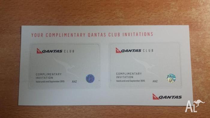2xQantas Club & International Business Lounge