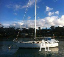 34ft Huon Pine Jennings design yacht