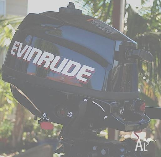 3 5hp 4 Stroke Evinrude Low Emissions Outboard Engine for
