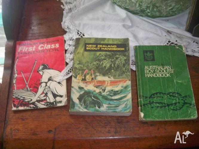 3 Boy Scout Books