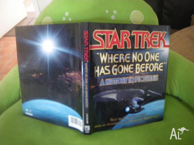 3 STAR TREK BOOKS SCIENCE FICTION MOVIES SCIFI FANTASY