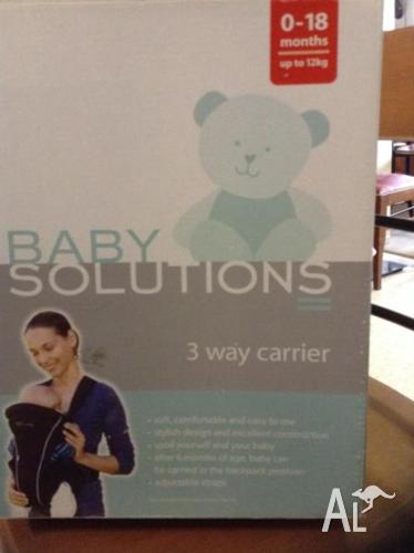 3 Way Baby Carrier (baby solutions)