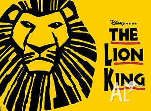 3 x The Lion King Melbourne tickets