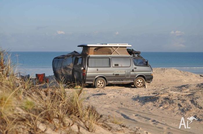 3L Turbo Diesel 4x4 Toyota Hiace Campervan for Sale in