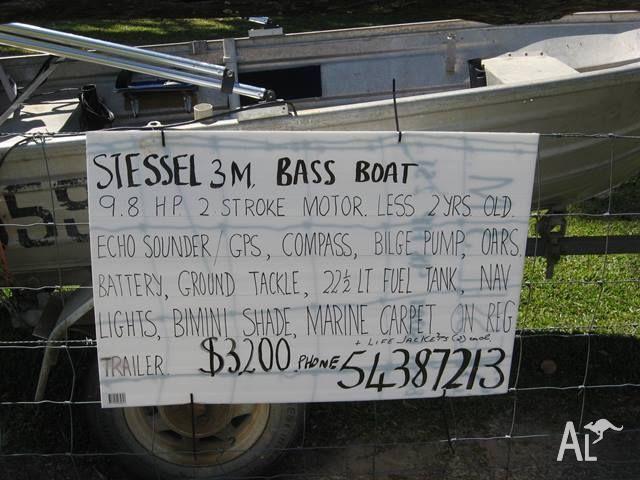 3m Bass Boat