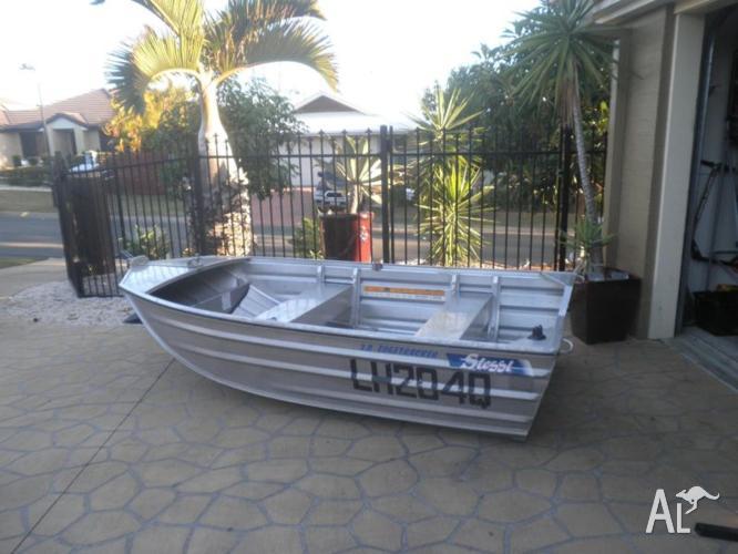 3m edgetracker with 15 hp suzuki 2 stroke outboard for Sale