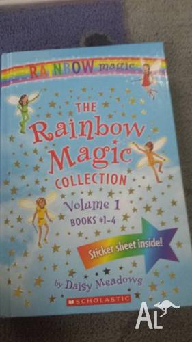 40 Rainbow Magic books. Some complete sets.