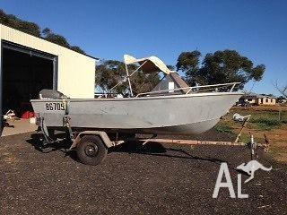 4.3 mtr Plate Ali runabout