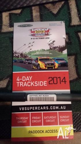 4 Day Bathurst 2014 ticket with paddock access