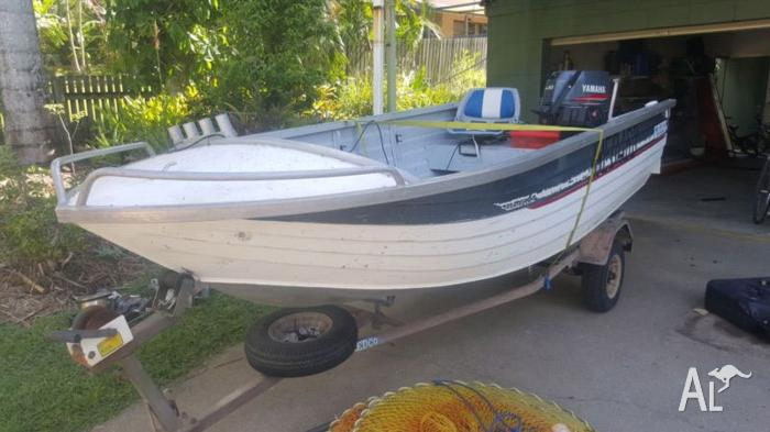 4m heavy duty Sea Jay Boat