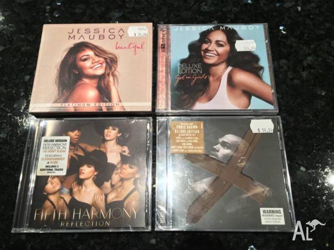 4x CD Albums