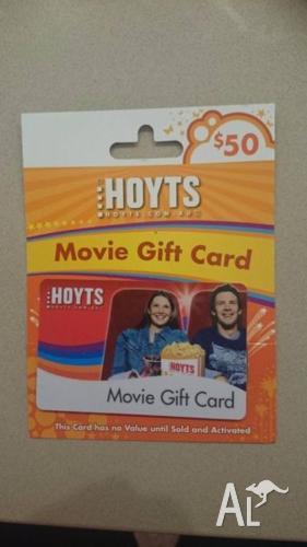 $50 Hoytes movie gift card - expires 06/16