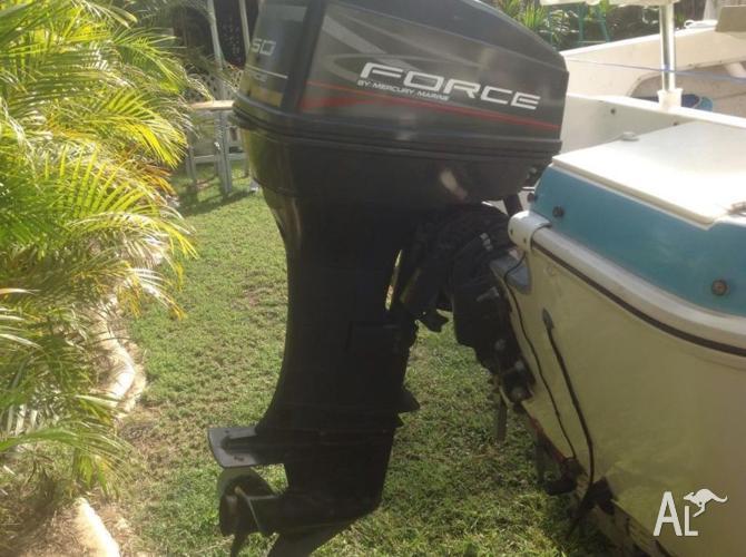 50hp Mercury Force Outboard Motor