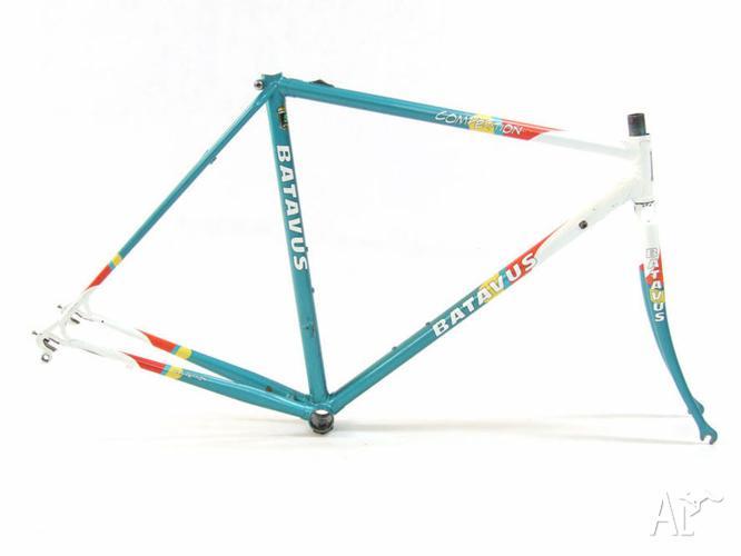 51cm Batavus vintage bike frame Reynolds 531 fixie/single speed for ...