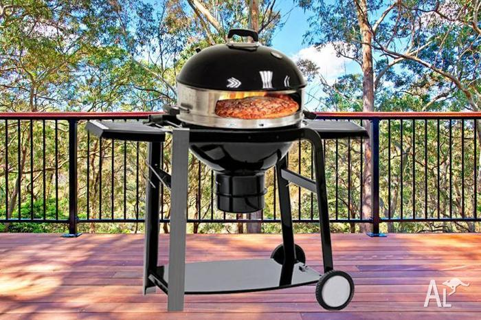 57cm Kettle/Pizza Charcoal BBQ