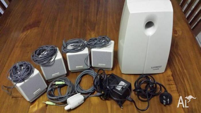 5.1 computer surround sound system