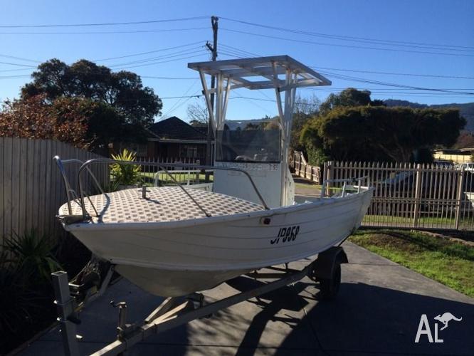 5.2m aluminium center console boat