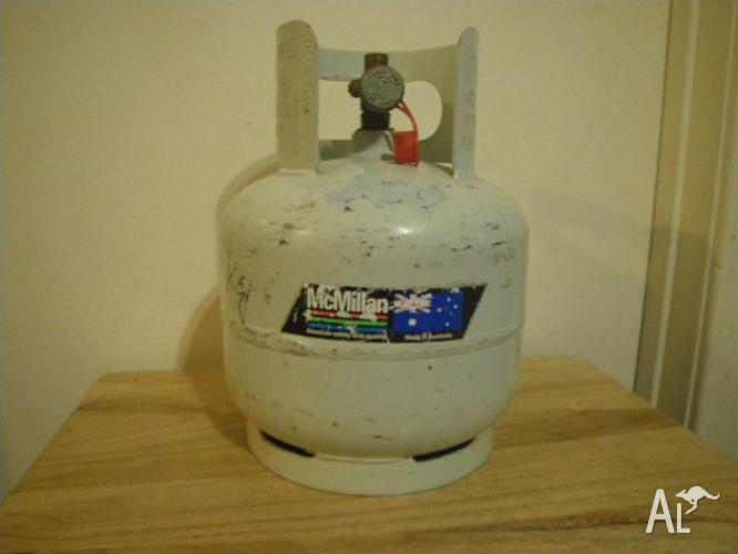 5KG MCMILLANS PORTABLE LPG CYLINDER BBQ GAS BOTTLE FUEL