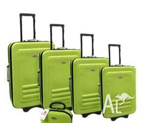 5pc Suitcase Trolley Travel Bag Luggage Set