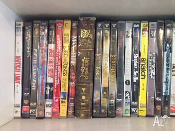 60+ DVD's - Classics to New