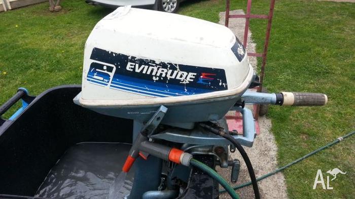 evinrude 4.5 hp outboard motor manual