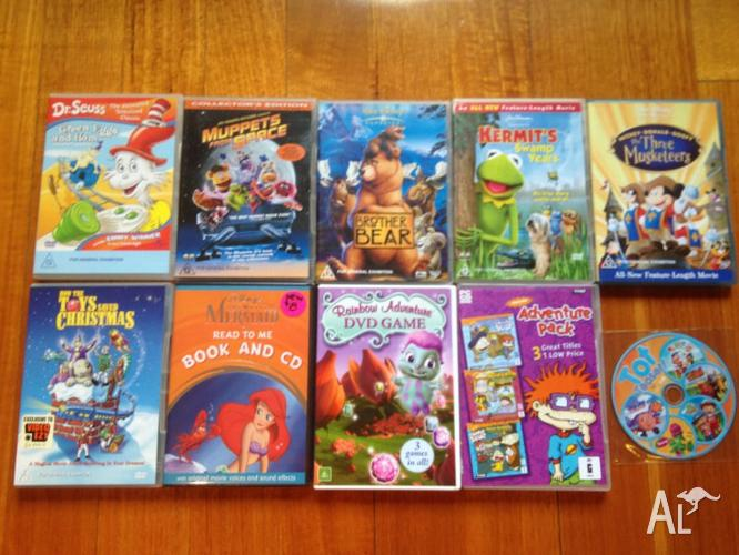 7 x Various DVD's/1 x CD/1 x DVD Game 1 X PC Game