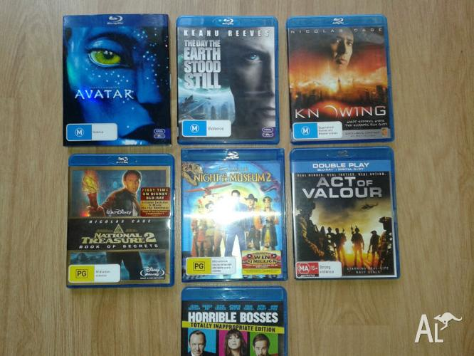 7x BLURAY movies. Avatar - Night at the Museum 2 + more