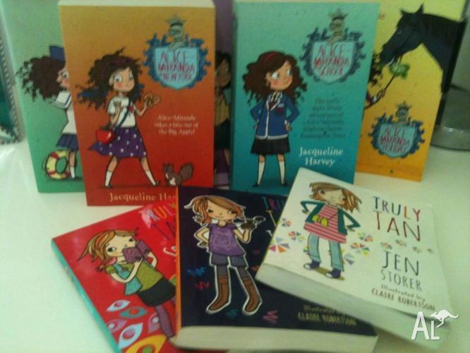* 8 books for Sale - Great Condition - Alice Miranda &