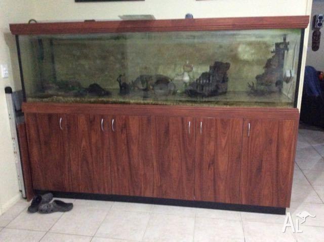 8ft habitat tank for reptiles, amphibians ,fish or