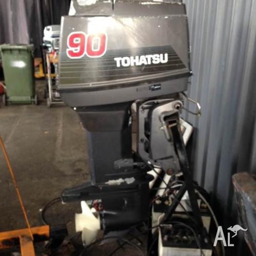 90hp Tohatsu Outboard