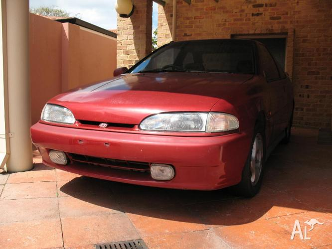 92 hyundai s coupe gt turbo wrecking all parts for sale. Black Bedroom Furniture Sets. Home Design Ideas