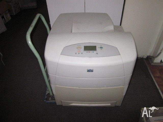 A3 COLOR LASER PRINTER - HP CLJ 5550
