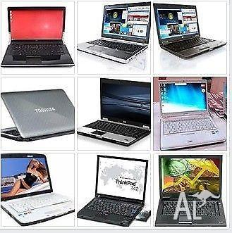 a few laptops for sale from $150 to $350