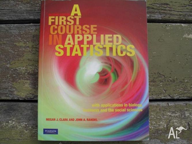 A First Course in Applied Statistics textbook - 2nd Edition