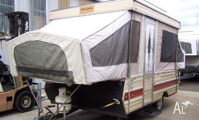 Beautiful NEWF Series F400 Camper Trailer  Inspect At Springvale For Sale