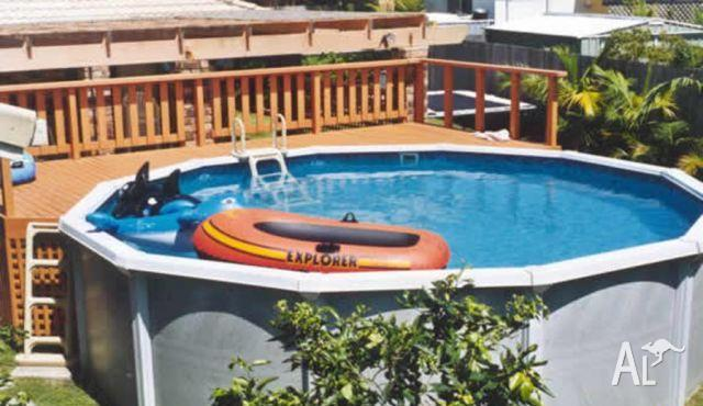 Above ground pool resin freshwater for sale in northfield for Above ground pools for sale