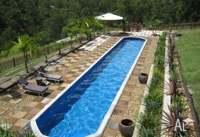 Above ground pool resin freshwater for sale in northfield for Best above ground pools australia