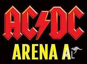 ACDC Standing Tickets Melbourne 6/12 ARENA 1 section
