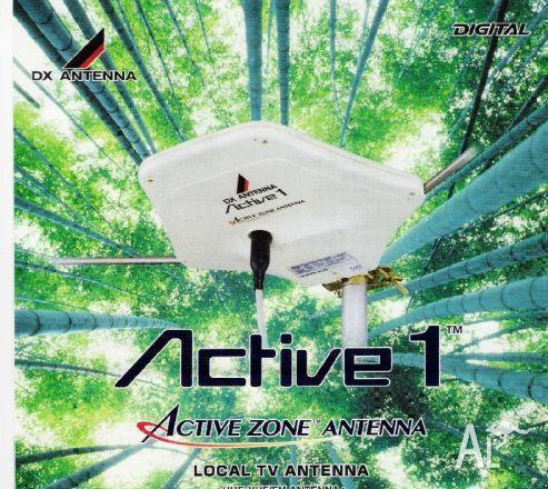 Active 1 Active Zone Antenna UHF-VHF/FM Antenna Happy