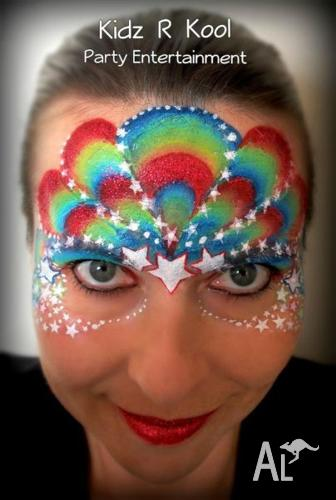 Adelaide Barossa Valley Face Painting And Balloon Twisting In