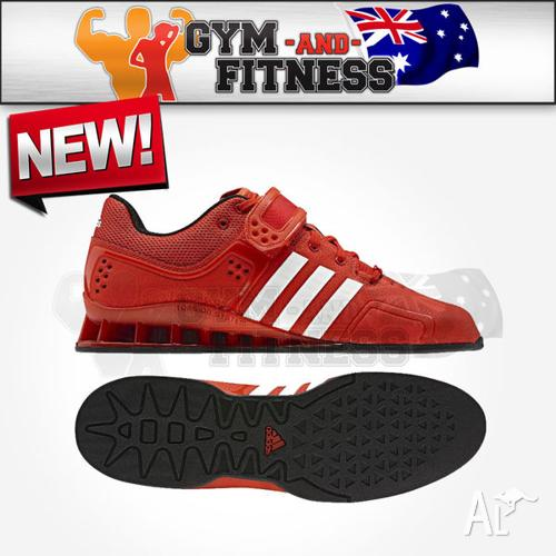 Adidas Adipower Weightlifting Shoes - Red - Size 8 for Sale in ... 0157f4bae