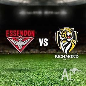 AFL FOOTBALL FOOTY TICKETS ESSENDON VS RICHMOND THIS