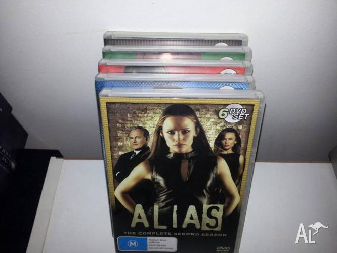 Alias, complete set